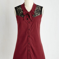 Make a Mission Statement Top in Burgundy