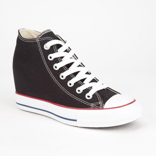 ec63dacbbc7b Converse Chuck Taylor All Star Lux Womens Shoes Black In Sizes