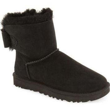 CREY1O UGG? 'Naveah' Genuine Shearling Boot (Women) | Nordstrom