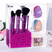 Makeup Organizer Storage Box Acrylic