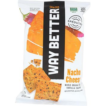 WAY BETTER: Snacks A Nacho Above Tortilla Chips, 5.5 Oz