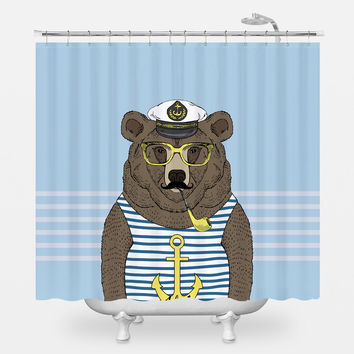 Sailor Barry Shower Curtain