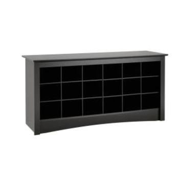 Prepac Sonoma Shoe Storage Cubbie Bench BSS-4824 at The Home Depot - Mobile