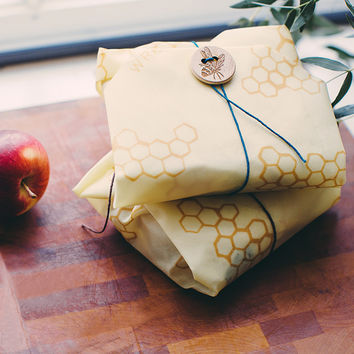 Beeswax Reusable Sandwich Wrap | Reusable Kitchen Wrappers