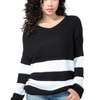 Border Stripes Sweater
