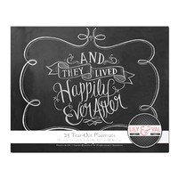 Book of 25 Tear-Out Placemats - They Lived Happily Ever After
