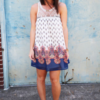 Daybreak Printed Dress