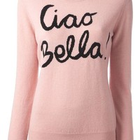 DCCKIN3 Moschino Cheap & Chic 'Ciao Bella' knit sweater