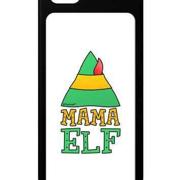 Matching Christmas Design - Elf Family - Mama Elf iPhone 5 / 5S Grip Case  by TooLoud