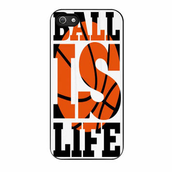 Basketball Ball Is Life iPhone 5 Case