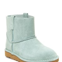 UGG Australia | Classic Unlined Mini Perforated Leather Boot | Nordstrom Rack