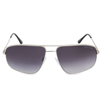 Tom Ford Justin Aviator Sunglasses FT0467 17W 60