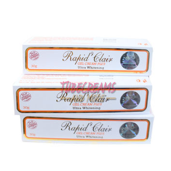 Rapid Clair Gel Cream Plus 30g Ultra Whitening (pack of 5)