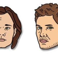Supernatrual - Winchester Brothers Soft Enamel Pin Set