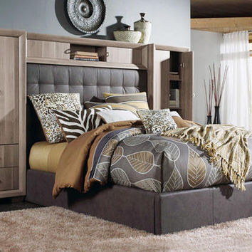 Brooklyn 7 Pc. King Wall Bedroom - King Bedroom Sets - Bedroom - mobile - theroomplace - Product Groups