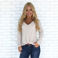 Knit Comes Naturally Long Sleeve Top