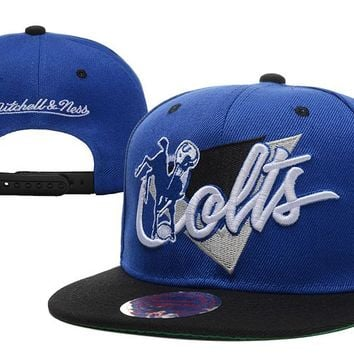Indianapolis Colts Snapback NFL Football Cap M&N