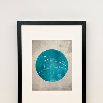 Aries Constellation Art, Zodiac Constellation, Zodiac Sign, Zodiac Art, Zodiac Print