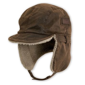 DPC Outdoor Design Distressed Winter Flap Hat - Men, Size: