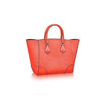 Tagre™ Authentic Louis Vuitton Epi Leather Phenix PM Bag Tote Handbag Article: M50942 Poppy M