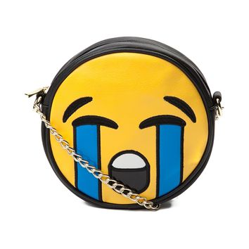 Womens Loud Crying Face Handbag
