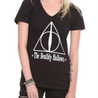 Harry Potter Deathly Hallows Girls T-Shirt
