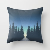 Guide Me Home Throw Pillow by Illusorium