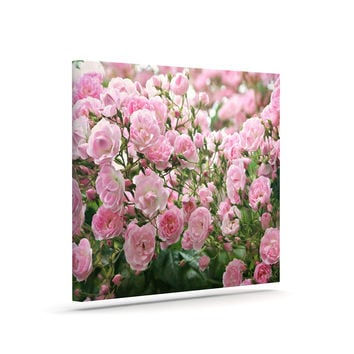 "Sylvia Cook ""The Fairy Rose"" Pink Floral Canvas Art"