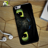 Toothless Eyes Design iPhone 6S case by Avallen