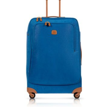 Bric's Designer Travel Bags Life Bluette Micro Suede X-Large Trolley