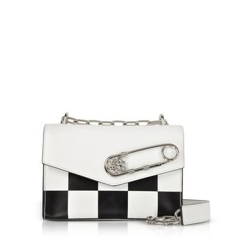 Checkerboard Bag by Versace
