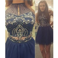 Short Prom Dress Homecoming Dresses pst1340