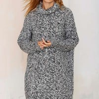 Deal With Knit Sweater Dress