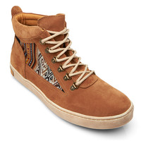 Inkkas Tan Suede Hiking Boots