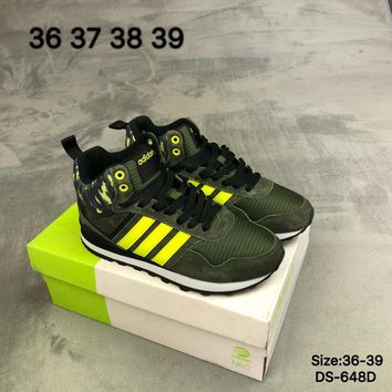 Adidas NEO KXT WTR MID Women Fashion Outdoor Sports Running Shoes