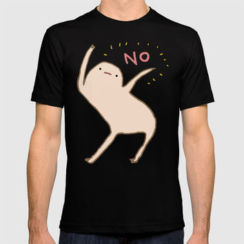 Honest Blob Says No T-shirt by sophiecorrigan