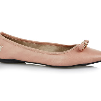 Butterfly Twists Isobel Point Peach - Flats