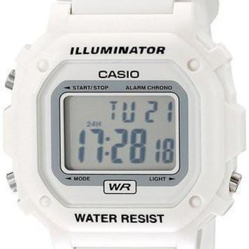 Casio Glossy White Digital Watch