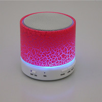Mini LED Light Bluetooth Speaker