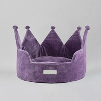 Crown Dog Cat Bed by Nandog