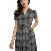Outlander 1940's Shirt Dress