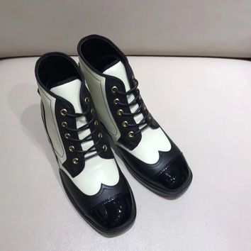 Chanel Women Casual Heels Shoes Boots