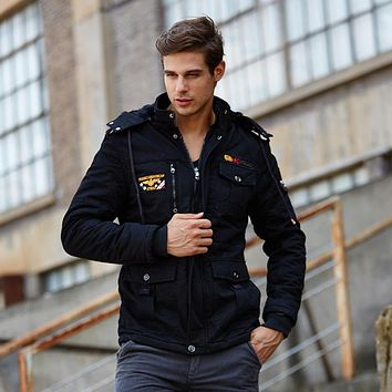 High Quality Clothing Winter Jacket Mens Parkas Thick Warm Outwear Casual Male Coat