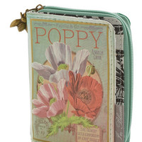 Darling, Scholastic The Writing on the Wallet in Poppy by Disaster Designs from ModCloth