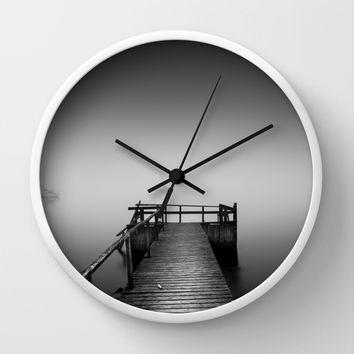 Ghost sailors Wall Clock by HappyMelvin