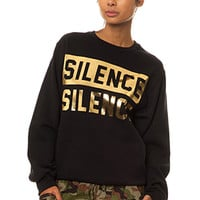 Silence Is Golden Sweatshirt