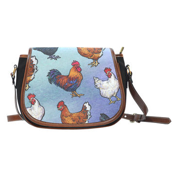 Farm Chicken Saddle Bag