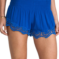Jen's Pirate Booty Simplicity Shorties in Electric Blue from REVOLVEclothing.com