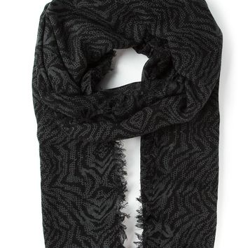 Zadig & Voltaire printed scarf