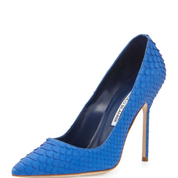 BB Python 105mm-Heel Pump, Blue